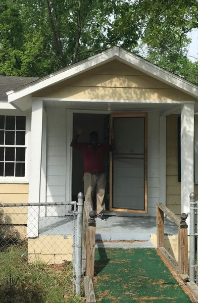 Army Veteran Pernet Gets a New Home and Furniture Pernet Move In
