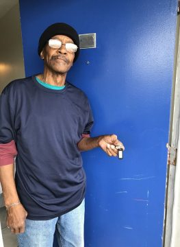 Air Force Veteran Moves Out of Homelessness airforce vet william