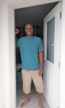 Welcome Home Dwayne army veteran dwayne
