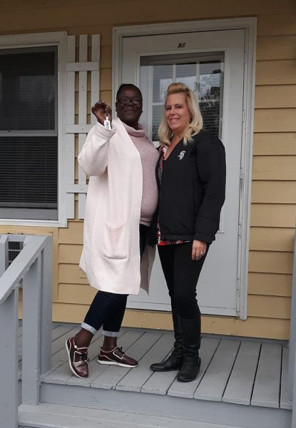 Barbara moves into Permanent Supportive Housing